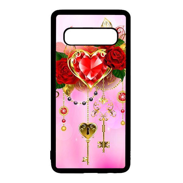 Ốp lưng điện thoại dành cho Samsung S10 Plus Ruby Key