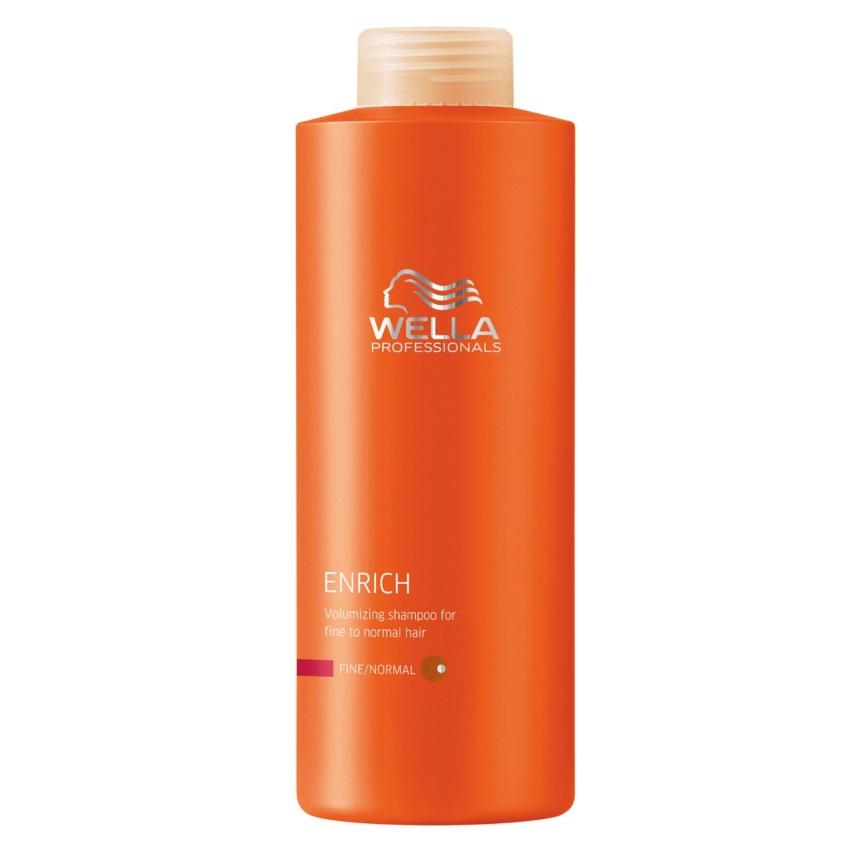 Dầu gội tăng cường dưỡng chất cho tóc khô mảnh Wella Professionals Enrich Moisturizing Shampoo for Dry and Damaged Hair 1000ml