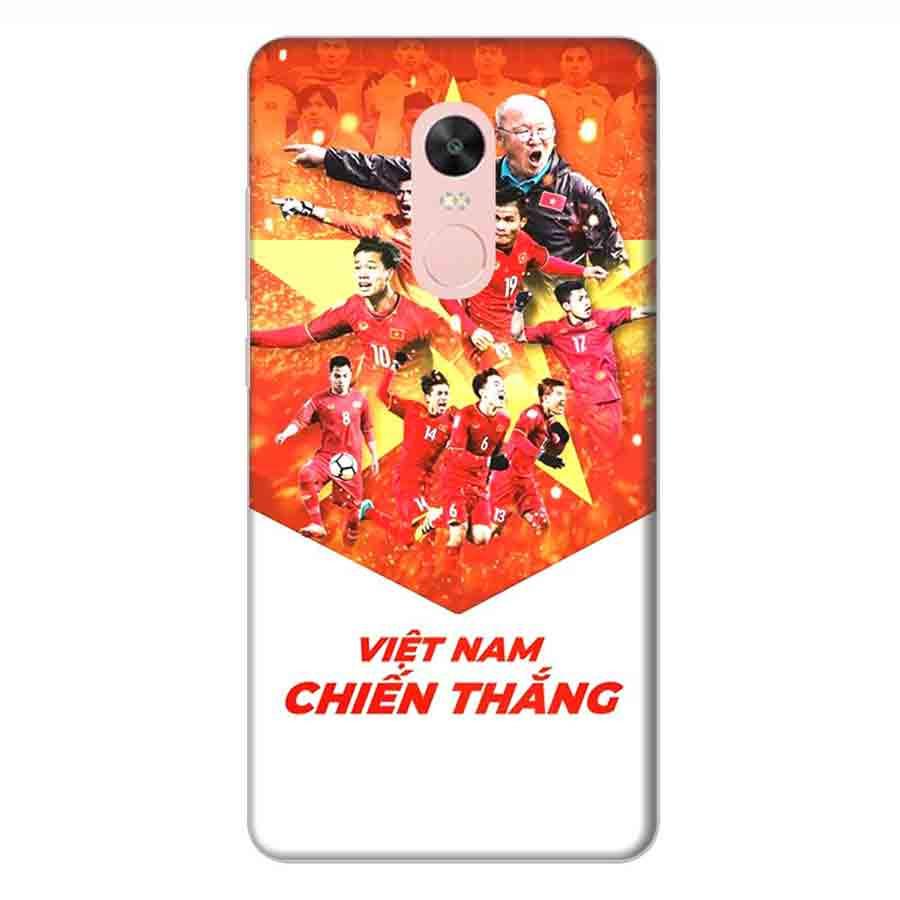 Ốp Lưng Dành Cho Xiaomi Note 4X AFF Cup Đội Tuyển Việt Nam - Mẫu 4