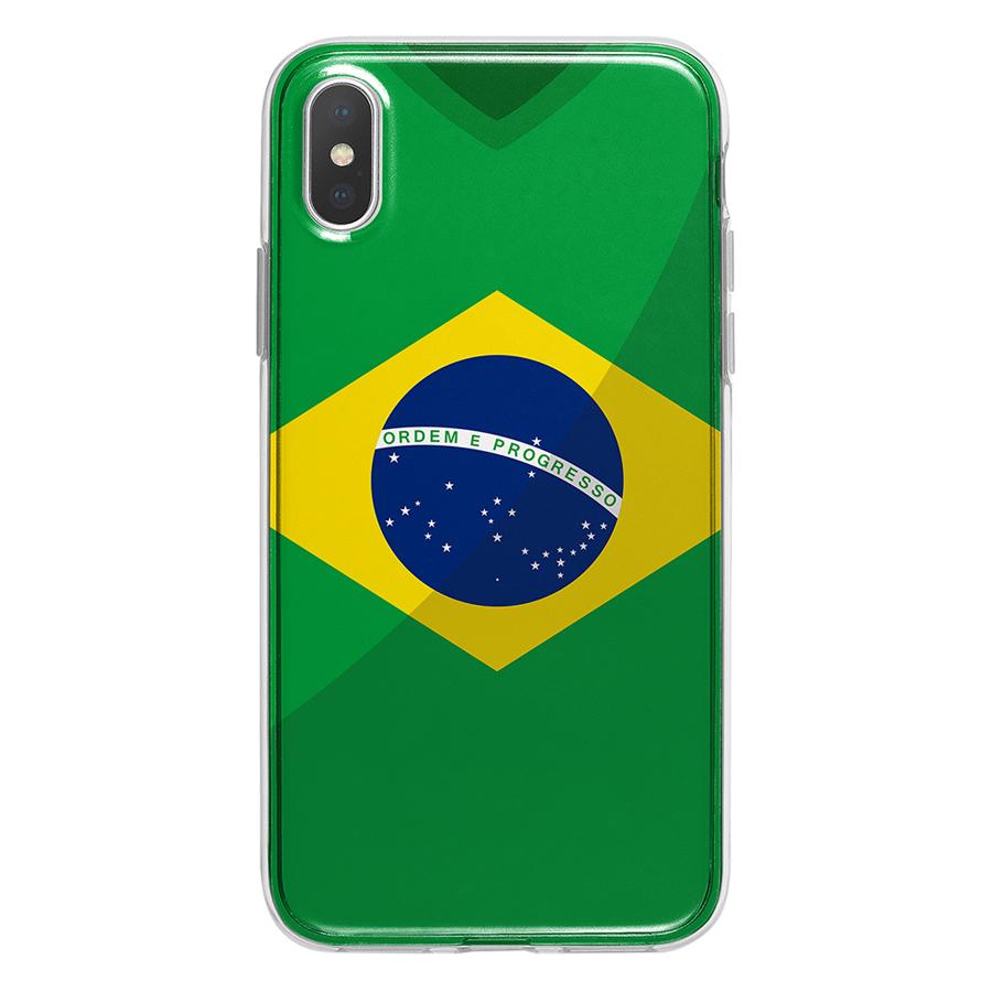 Ốp Lưng Mika Cho iPhone X BRAZIL-C-IPX