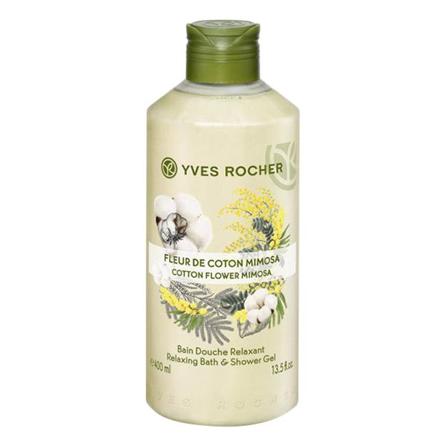 Sữa Tắm Yves Rocher Cotton Flower Mimosa Relaxing Bath  Shower Gel (400ml) - 1557455 , 5736234650623 , 62_10099826 , 280000 , Sua-Tam-Yves-Rocher-Cotton-Flower-Mimosa-Relaxing-Bath-Shower-Gel-400ml-62_10099826 , tiki.vn , Sữa Tắm Yves Rocher Cotton Flower Mimosa Relaxing Bath  Shower Gel (400ml)