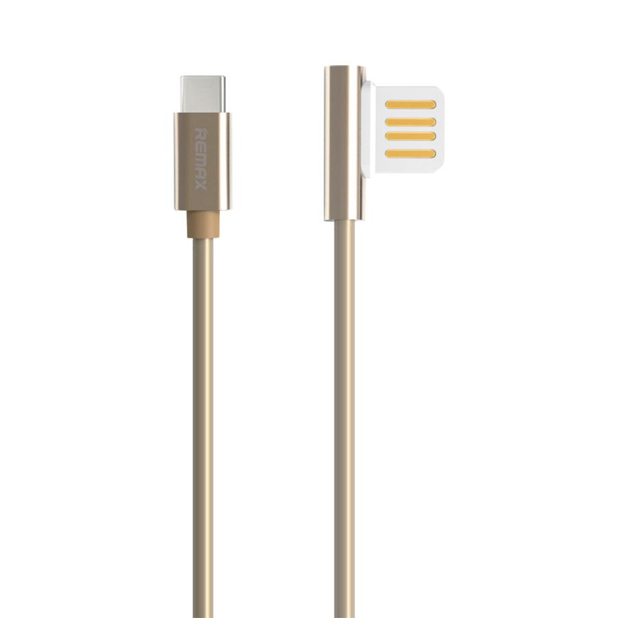 Cáp Sạc USB Type C Cắm Hai Chiều Remax RC-054A