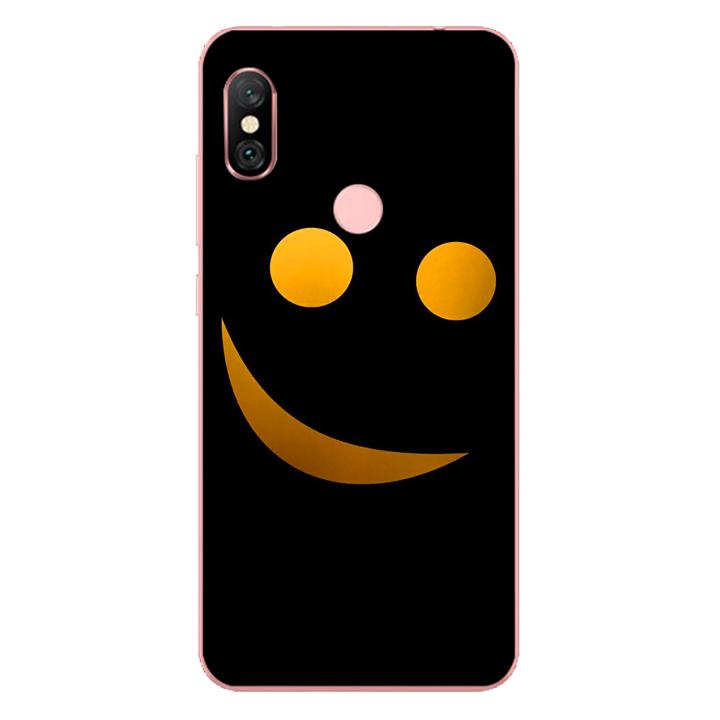 Ốp lưng dẻo cho điện thoại Xiaomi Redmi Note 6 Pro_Smile 03
