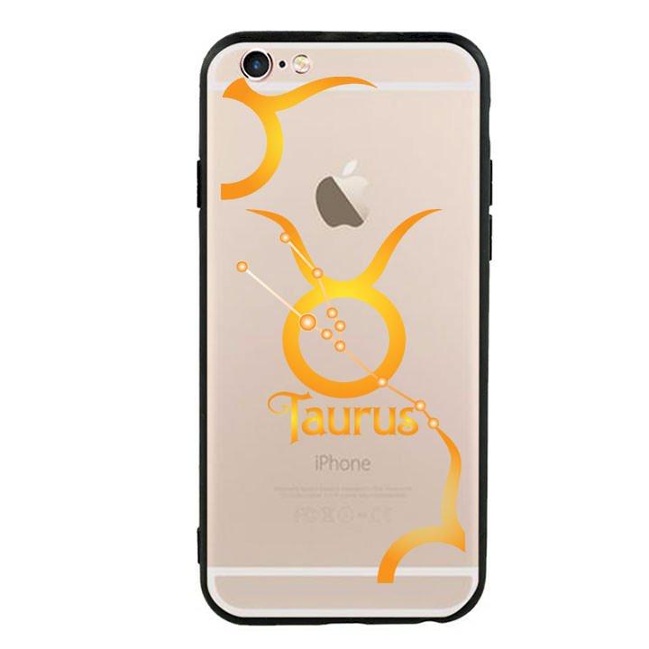 Ốp lưng Cho Điện Thoại Iphone 6 viền TPU cung Kim Ngưu - Taurus