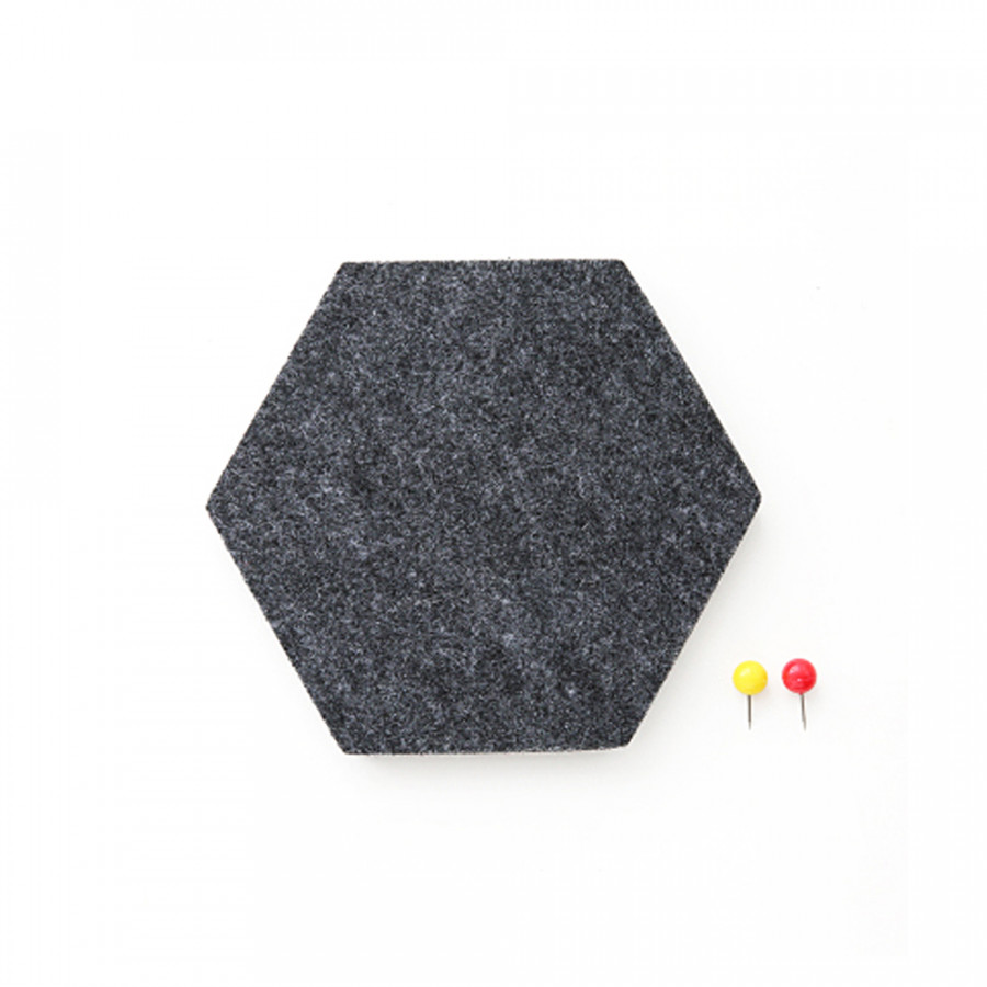 Multi-functional Innovative Hexagon Felt Wall Sticker Removable Self Adhesive EVA Wall Stickers Home DIY Decoration