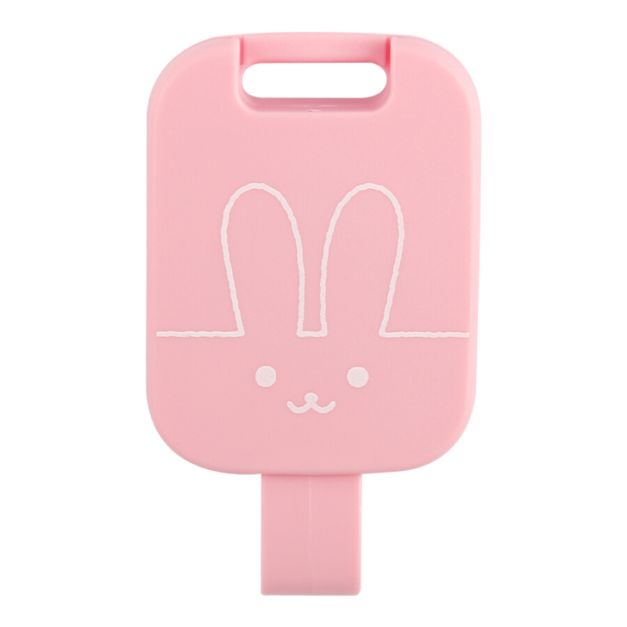 Japan Kokuyo (KOKUYO) Campus Kids children ID card ID card badge easy to buckle telescopic buckle anti-flip telescopic length 60cm rabbit...