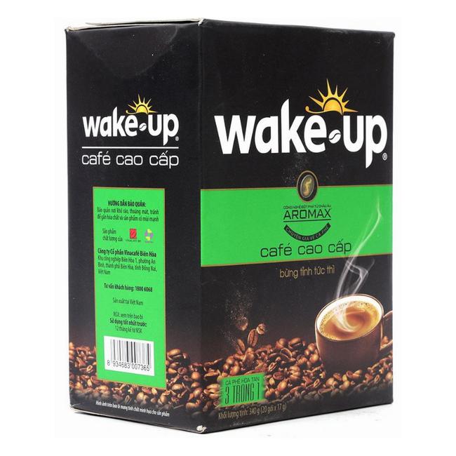 Cà Phê Sữa Hòa Tan Wake Up (17g / Gói) - 1098180 , 3907828062227 , 62_3942287 , 46800 , Ca-Phe-Sua-Hoa-Tan-Wake-Up-17g--Goi-62_3942287 , tiki.vn , Cà Phê Sữa Hòa Tan Wake Up (17g / Gói)