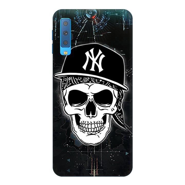 Ốp Lưng Dành Cho Điện Thoại Samsung Galaxy A7 2018 Halloween Mẫu 1