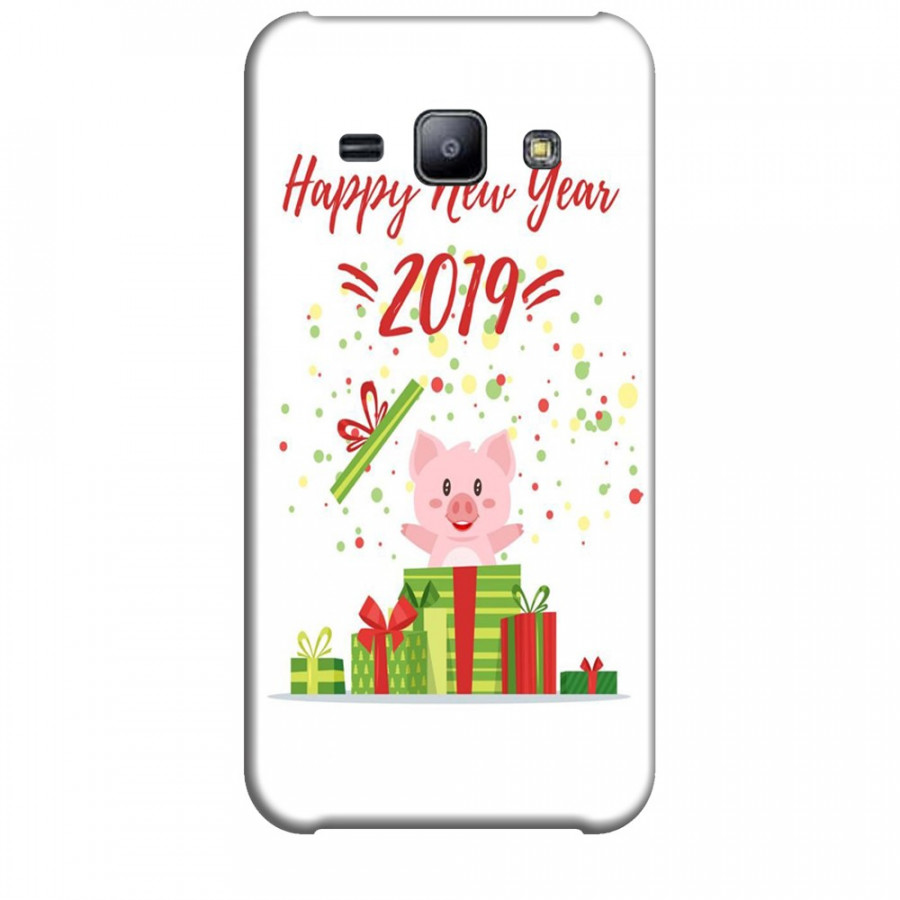 Ốp lưng dành cho điện thoại  SAMSUNG GALAXY J2 Happy New Year Mẫu 3