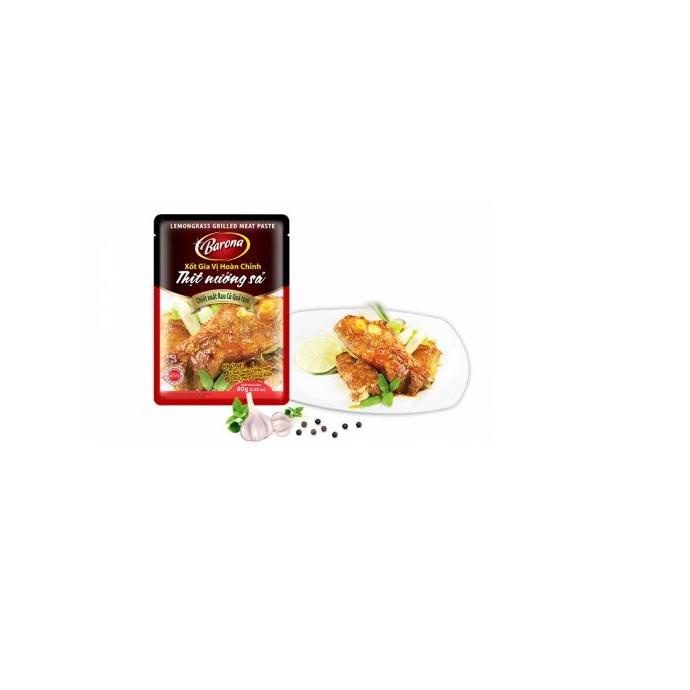Xốt Gia vị hoàn chỉnh Barona - Thịt Nướng Sả 80gr