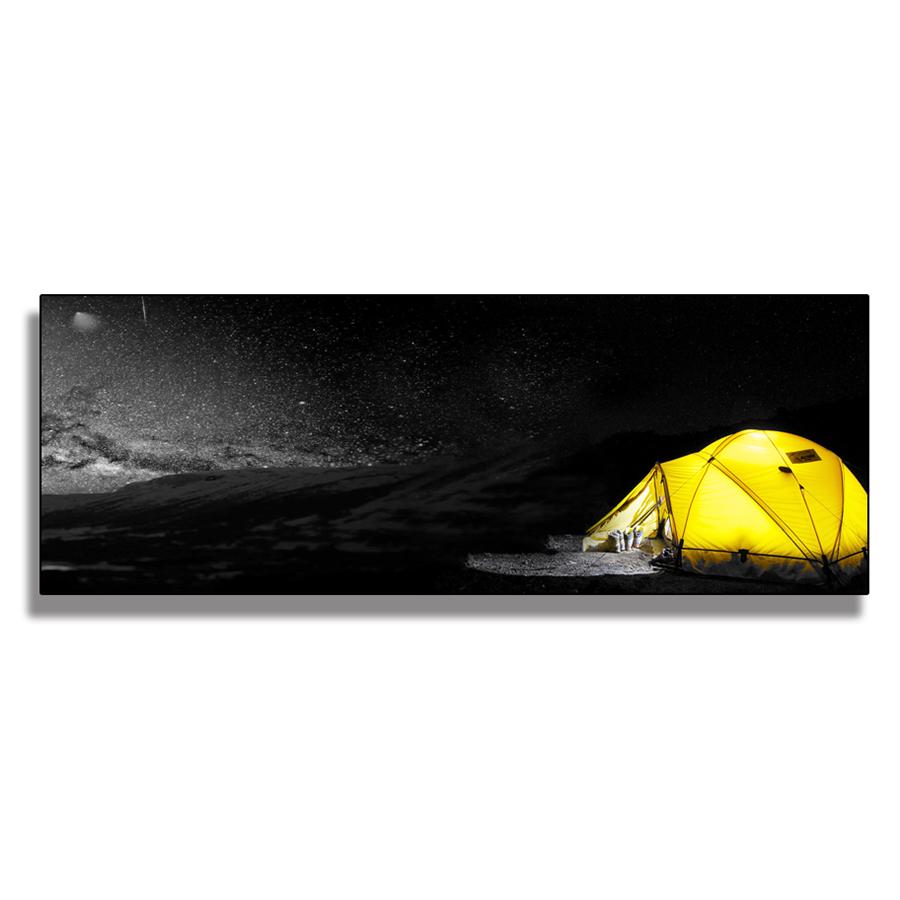 Tranh Canvas (40 x 120 cm) - Trang Trí Phòng Khách, Phòng Ngủ Tặng Kèm Đinh Treo Tranh Chuyên Dụng - Khung Hình Phạm Gia PG6