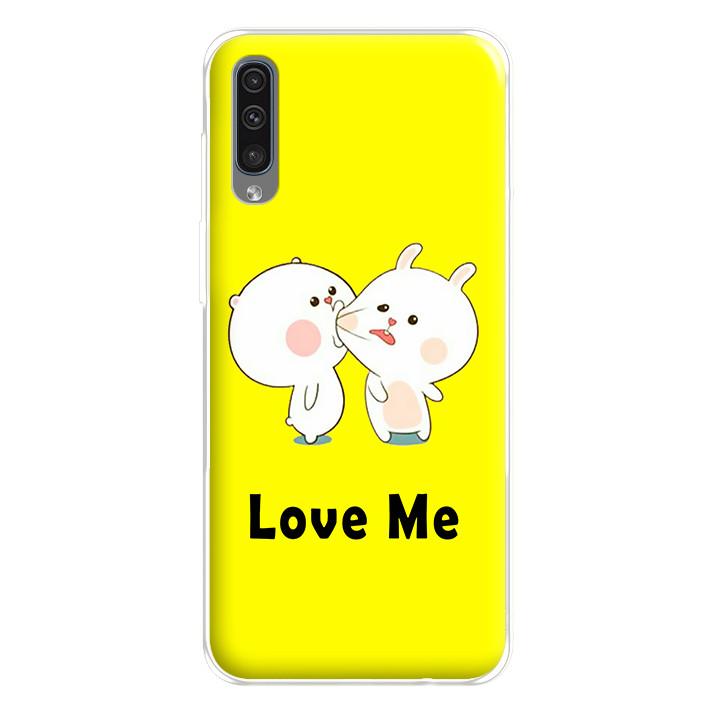 Ốp lưng dẻo cho điện thoại Samsung Galaxy A50 - 2240018 LOVEME