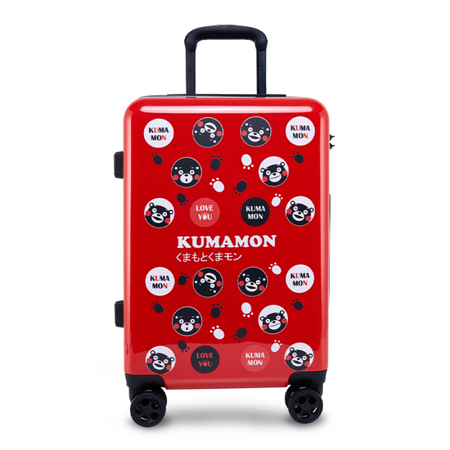 Cool MA Meng KUMAMON Kumamoto Bear suitcase universal wheel cute suitcase men and women PC trolley case zipper red heart 20 inches (black) - 1910871 , 7594926054757 , 62_10263533 , 2886000 , Cool-MA-Meng-KUMAMON-Kumamoto-Bear-suitcase-universal-wheel-cute-suitcase-men-and-women-PC-trolley-case-zipper-red-heart-20-inches-black-62_10263533 , tiki.vn , Cool MA Meng KUMAMON Kumamoto Bear suit