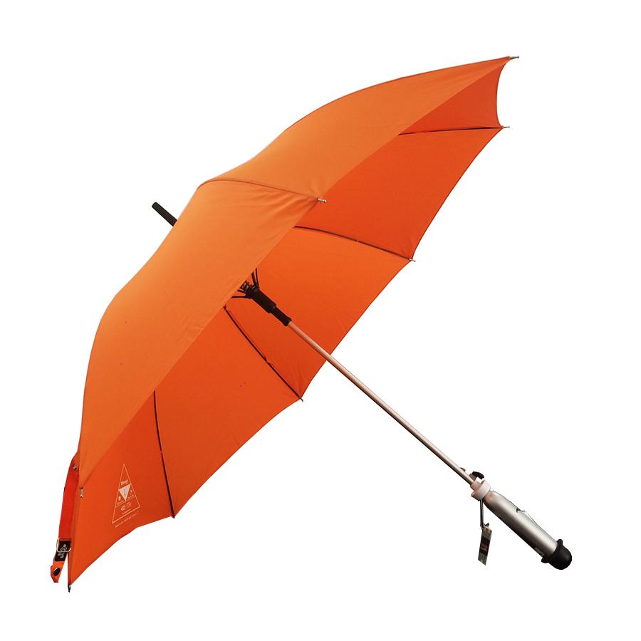 Ô dù cầm tay thông minh bluetooth Hàn Quốc - Monarch Orange