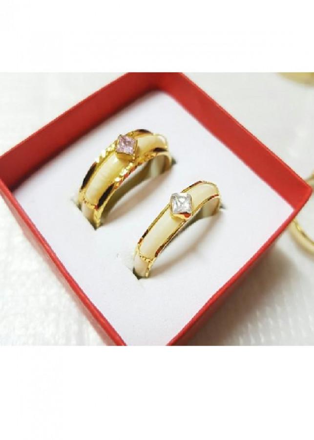 Nhẫn Đôi Ốp Vàng 2 Lông Voi Đính Đá Vàng 10k Màu Hồng - Trắng Cỡ Nhỏ - 9729753 , 5457827667537 , 62_16334252 , 3800000 , Nhan-Doi-Op-Vang-2-Long-Voi-Dinh-Da-Vang-10k-Mau-Hong-Trang-Co-Nho-62_16334252 , tiki.vn , Nhẫn Đôi Ốp Vàng 2 Lông Voi Đính Đá Vàng 10k Màu Hồng - Trắng Cỡ Nhỏ