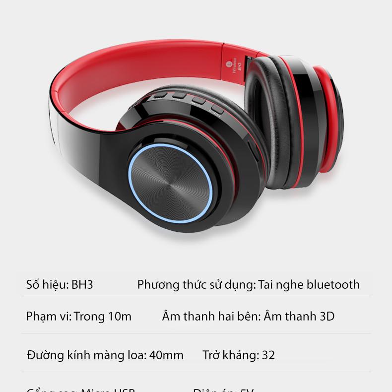 Tai nghe Bluetooth không dây có đèn LED - 2331010 , 7923048443284 , 62_15098180 , 831000 , Tai-nghe-Bluetooth-khong-day-co-den-LED-62_15098180 , tiki.vn , Tai nghe Bluetooth không dây có đèn LED