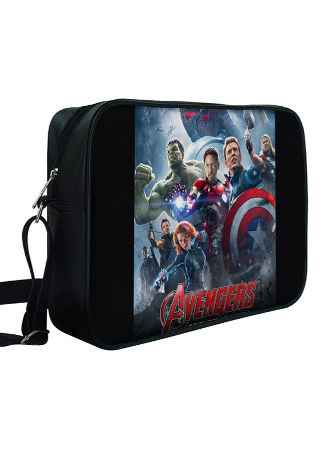 Túi Đeo Chéo Hộp Unisex In Hình Avengers Age Of Ultron - TCFF259