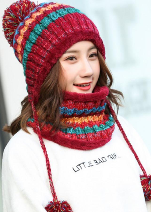 Bộ mũ len và khăn trùm cổ sọc màu A003 - 5369120 , 5876129742788 , 62_15682076 , 190000 , Bo-mu-len-va-khan-trum-co-soc-mau-A003-62_15682076 , tiki.vn , Bộ mũ len và khăn trùm cổ sọc màu A003
