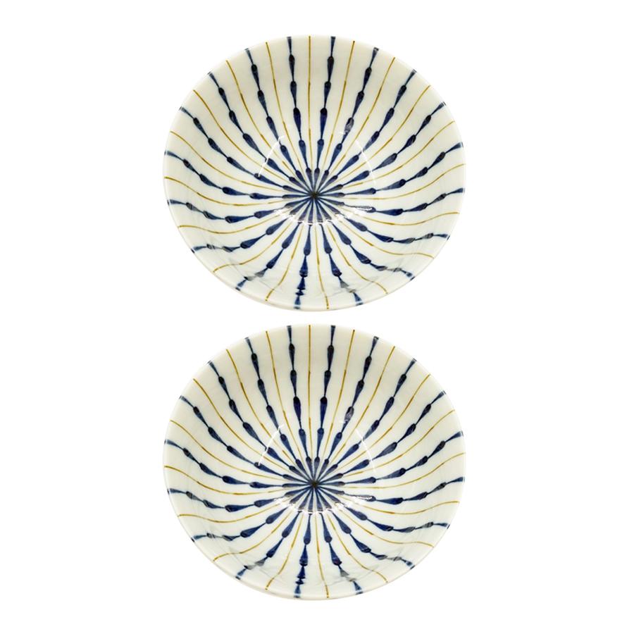 Combo 2 bát ceramic tráng men chịu nhiệt cao họa tiết - Hàng Nội Địa Nhật