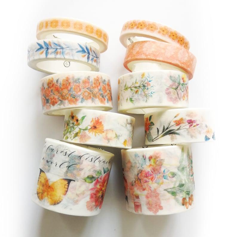 Băng keo giấy trang trí Washi tape 10 cuộn chủ đề hoa cỏ mùa xuân Masking tape WS025 - 2190467 , 2610841800219 , 62_14054531 , 125000 , Bang-keo-giay-trang-tri-Washi-tape-10-cuon-chu-de-hoa-co-mua-xuan-Masking-tape-WS025-62_14054531 , tiki.vn , Băng keo giấy trang trí Washi tape 10 cuộn chủ đề hoa cỏ mùa xuân Masking tape WS025