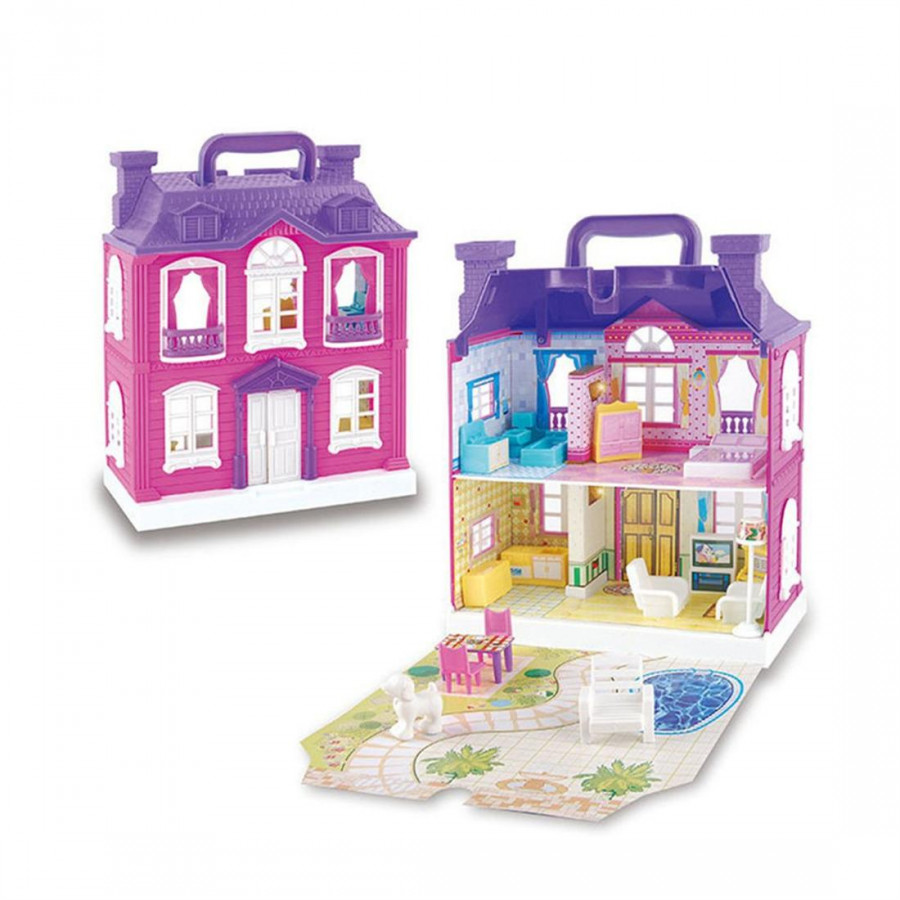 Children Play Toys Simulation Luxury Villa Doll House 897 (Low)