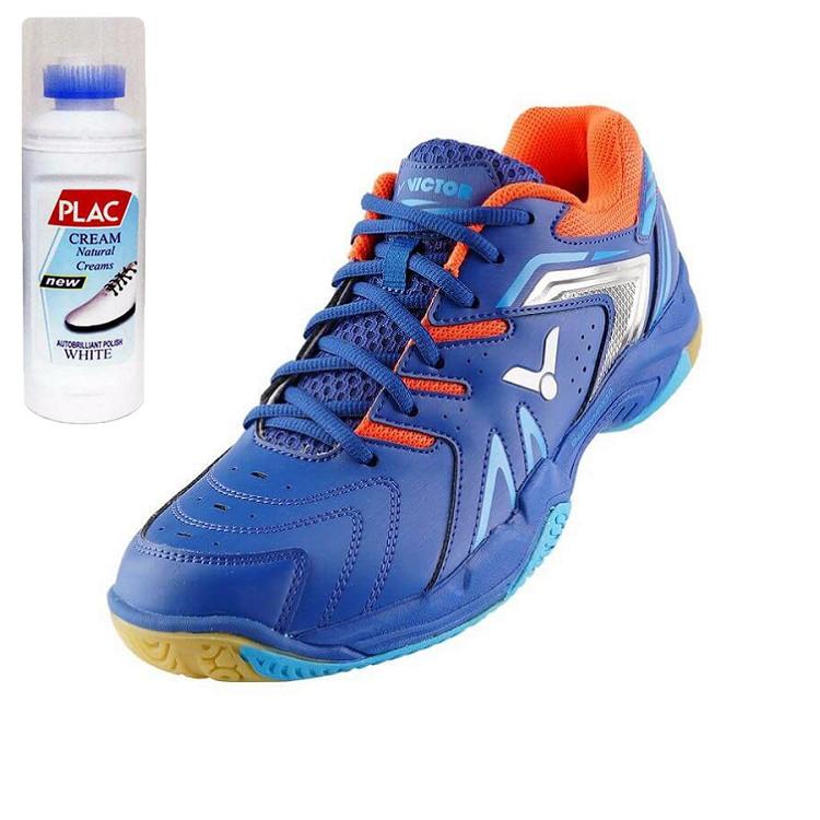 Giày Cầu lông Nam Victor chính hãng 610B - Tặng bình làm sạch giày cao cấp