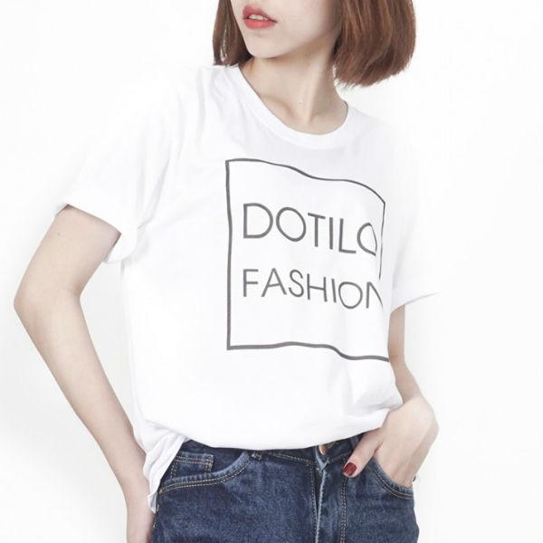 Áo T-shirt Trẻ Em Fashion Dotilo AONU22 - Trắng