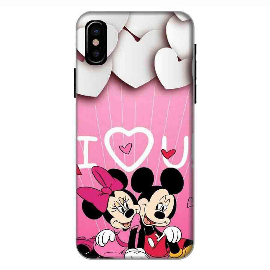 Ốp Lưng Dành Cho Điện Thoại iPhone XS - I Love You