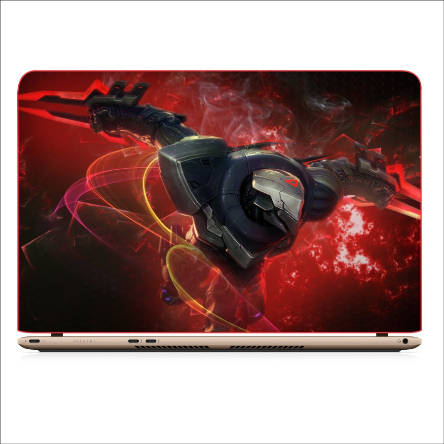 Miếng Dán Skin In Decal Dành Cho Laptop -  Zed LMHT 5