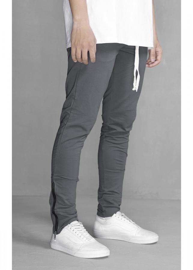 Skinny Joggers With Zip Detail N K300