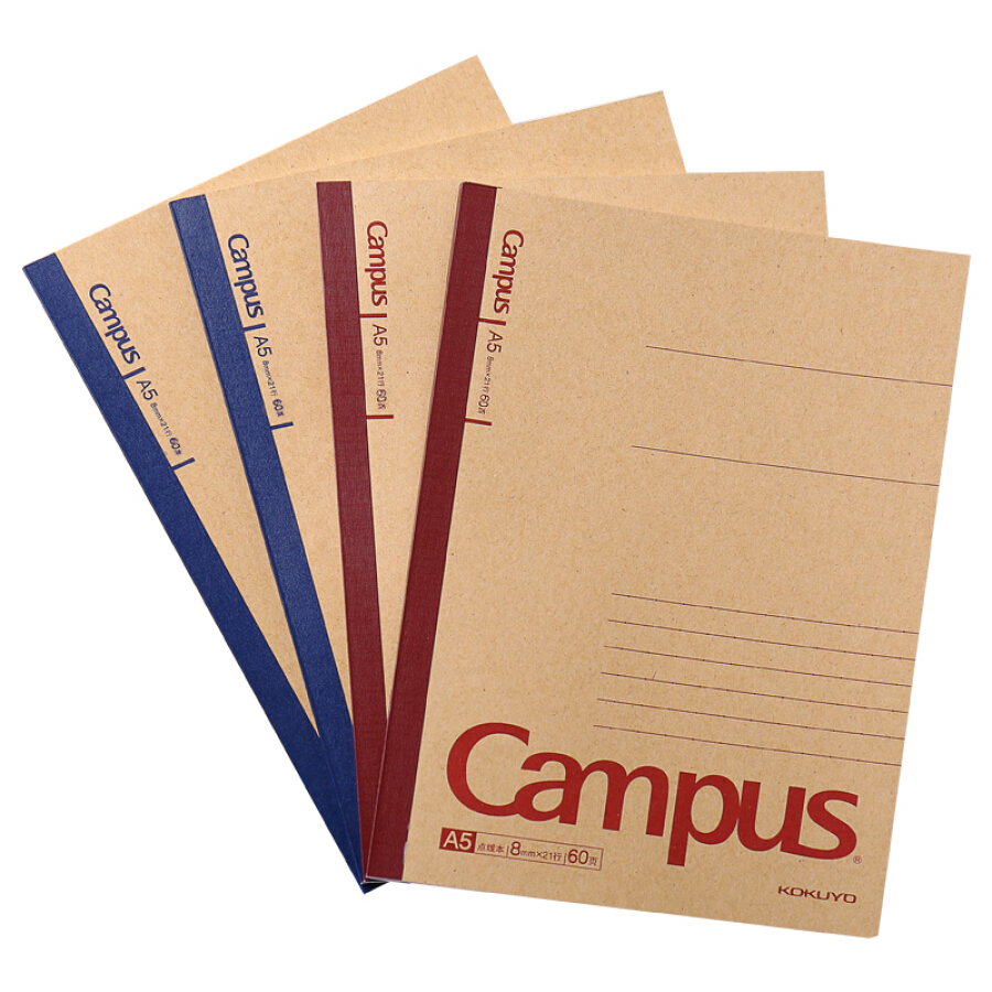 KOKUYO (KOKUYO) Campus Kraft Paper Wireless Bindingbook / Notepad / Soft Copy A5 / 60 Page 4 This color is loaded WCN-CNB3615