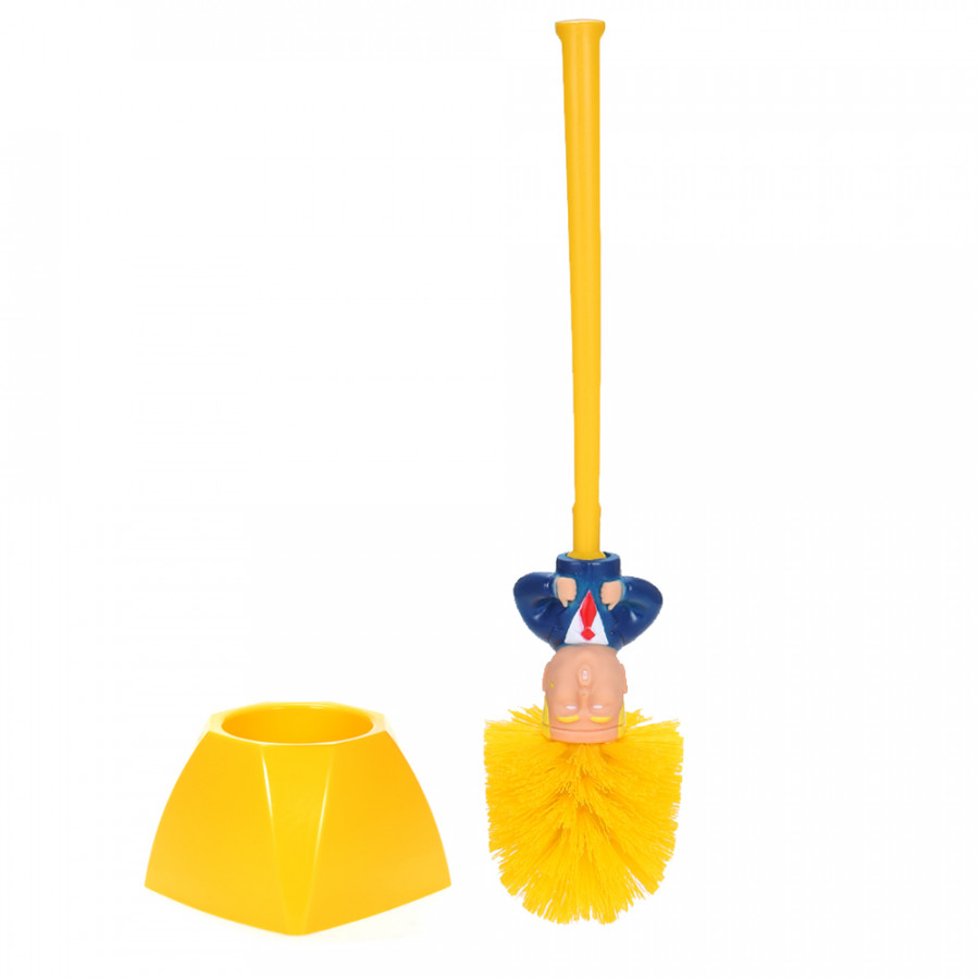 Donald Trump President Toilet Brush with Base Holder Novelty Funny Toilet Cleaning Tool Plastic Brush Cleaner Bathroom - 4859374 , 1630251963671 , 62_16522129 , 255000 , Donald-Trump-President-Toilet-Brush-with-Base-Holder-Novelty-Funny-Toilet-Cleaning-Tool-Plastic-Brush-Cleaner-Bathroom-62_16522129 , tiki.vn , Donald Trump President Toilet Brush with Base Holder Novelty Fu
