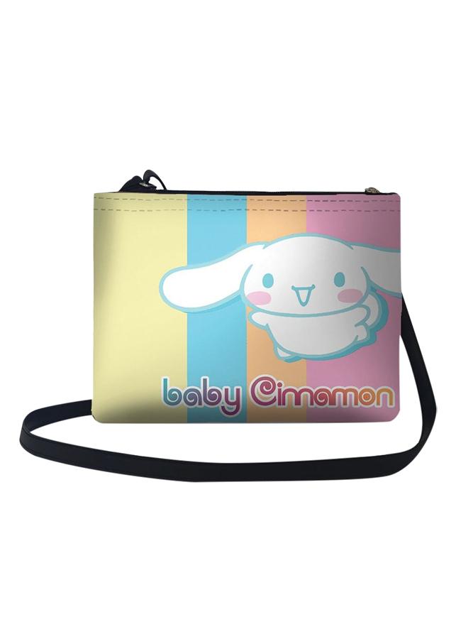 Túi Đeo Chéo Nữ In Hình Thỏ Baby Cinamon - TUCT094 (24 x 17 cm)