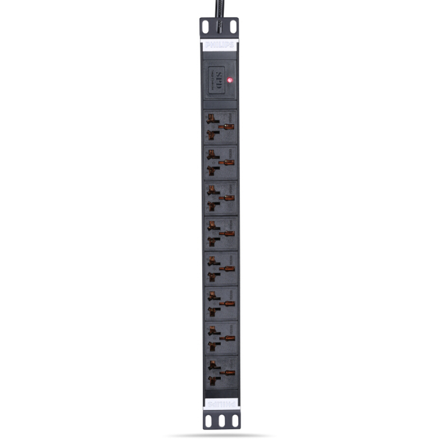 Ổ Cắm Rack (PDU) Chống Sét 8 Ổ Cắm 10A/16A PHILIPS (3m) - 1052603 , 5224371155410 , 62_3425659 , 1542000 , O-Cam-Rack-PDU-Chong-Set-8-O-Cam-10A-16A-PHILIPS-3m-62_3425659 , tiki.vn , Ổ Cắm Rack (PDU) Chống Sét 8 Ổ Cắm 10A/16A PHILIPS (3m)