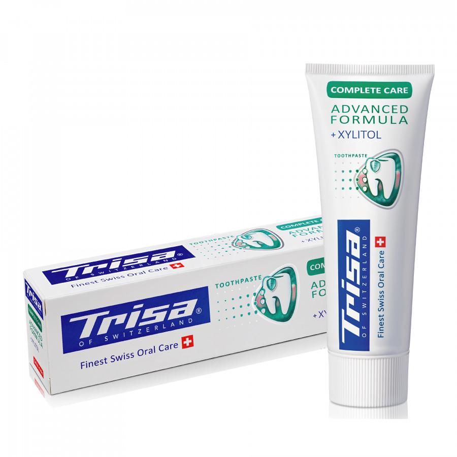 Kem Đánh Răng Thụy Sỹ Trisa Complete Care 75ml