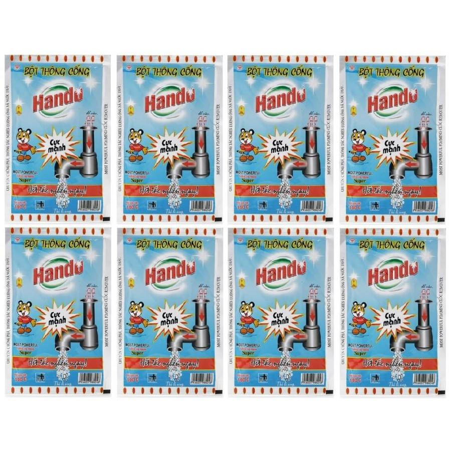 Bộ 8 gói bột thông cống cực mạnh 100g nội địa Hando - 987745 , 4077062967158 , 62_3553051 , 200000 , Bo-8-goi-bot-thong-cong-cuc-manh-100g-noi-dia-Hando-62_3553051 , tiki.vn , Bộ 8 gói bột thông cống cực mạnh 100g nội địa Hando