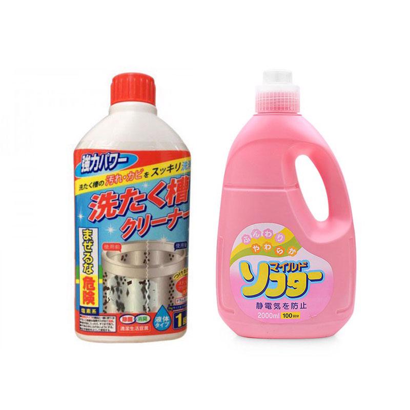 Nước xả vải cao cấp + chai nước tẩy lồng máy giặt Rocket 400ml nội địa Nhật Bản set combo - 7420217 , 6346408229563 , 62_15425825 , 450000 , Nuoc-xa-vai-cao-cap-chai-nuoc-tay-long-may-giat-Rocket-400ml-noi-dia-Nhat-Ban-set-combo-62_15425825 , tiki.vn , Nước xả vải cao cấp + chai nước tẩy lồng máy giặt Rocket 400ml nội địa Nhật Bản set combo
