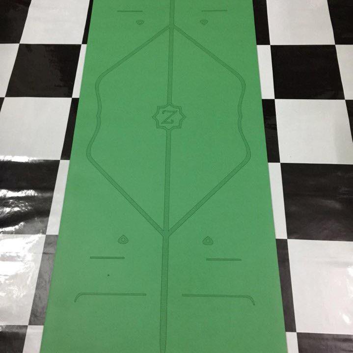 Thảm Tập Yoga Định Tuyến PU Zen Yoga Mat