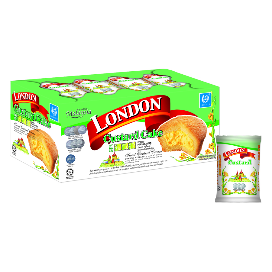 Bánh Trứng Nhân Custard London Khay 20 Gói - 7504046 , 8885507699160 , 62_16153108 , 53000 , Banh-Trung-Nhan-Custard-London-Khay-20-Goi-62_16153108 , tiki.vn , Bánh Trứng Nhân Custard London Khay 20 Gói