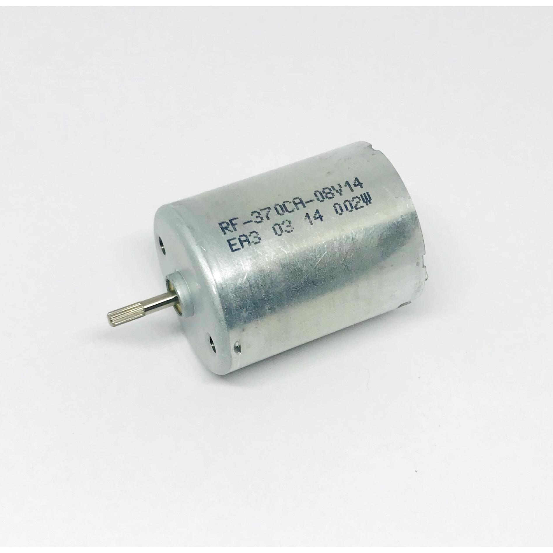 Động cơ motor mô tơ mini RF-370CA mô men xoắn lớn chạy rất êm DC 3V-12V tốc độ 5000-10200 RPM chất lượng cao - LK0096