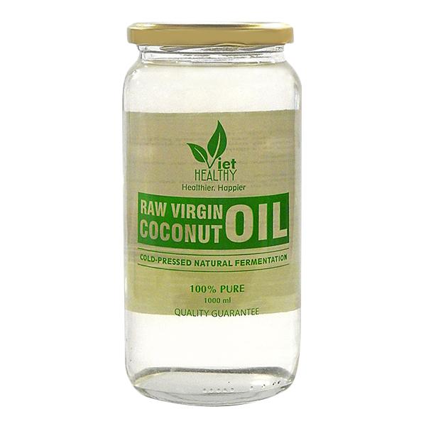 Dầu dừa nguyên chất Viet Healthy lọ 1000ml