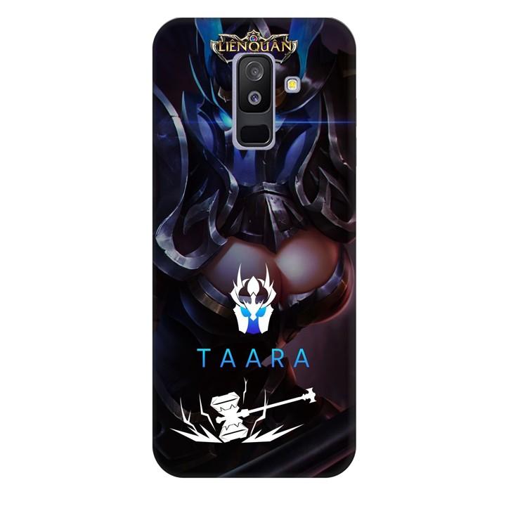 Ốp lưng nhựa cứng nhám dành cho Samsung Galaxy A6 Plus 2018 in hình Taara