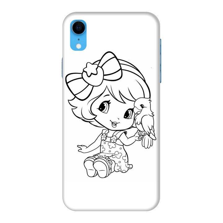 Ốp Lưng Dành Cho Điện Thoại iPhone XR Baby Strawberry 4
