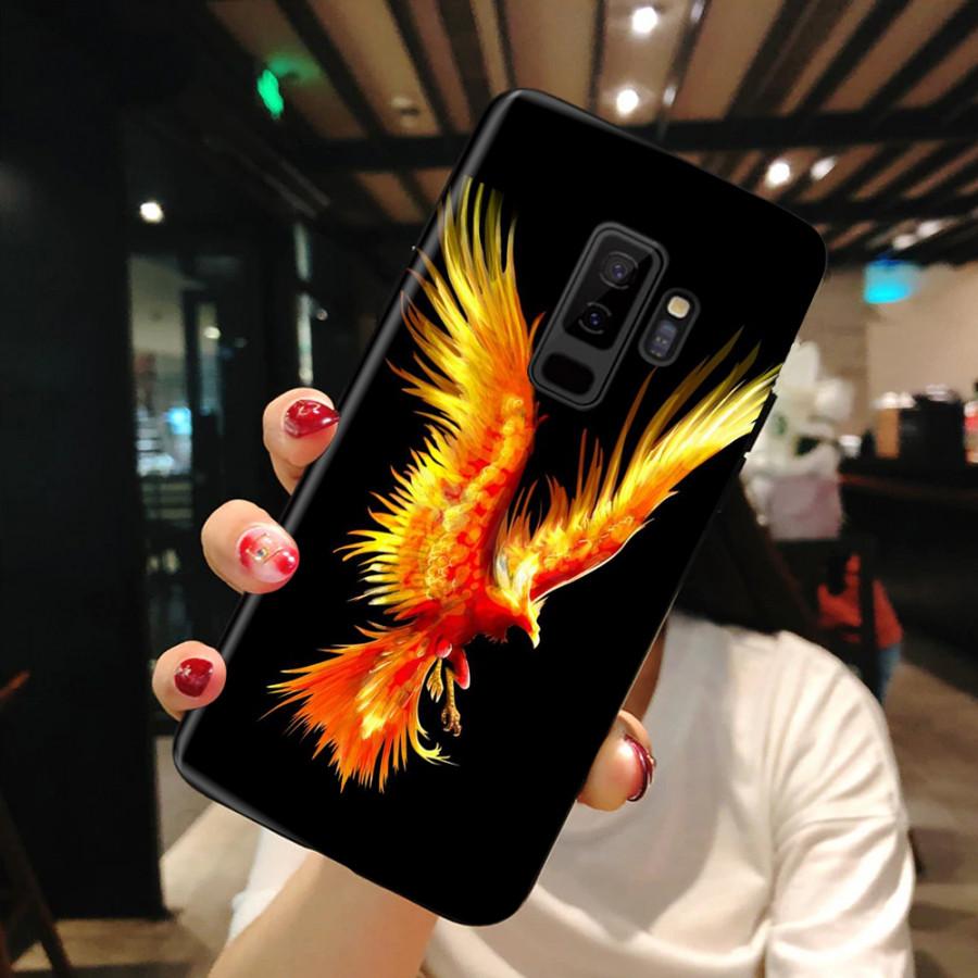 Ốp Lưng Dành Cho Máy  Samsung S9 Plus  Ốp Dẻo Cao Cấp Mẫu Hình Phượng Hoàng Băng, Phượng Hoàng Lửa  Ốp Cao Cấp,...