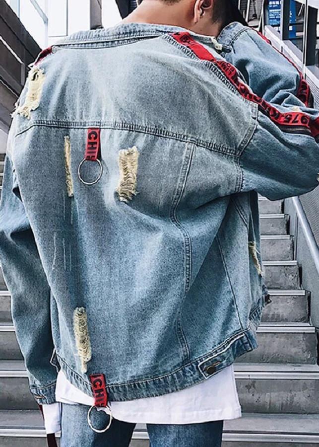 Áo khoác jean nam thời trang cao câp MUN SHOP MS002