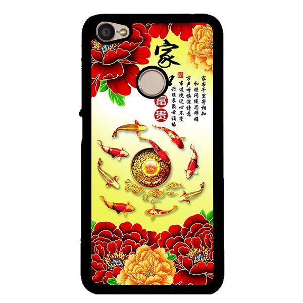 Ốp lưng dành cho điện thoại Xiaomi Redmi note 5A prime Hoa Mẫu Đơn Đỏ
