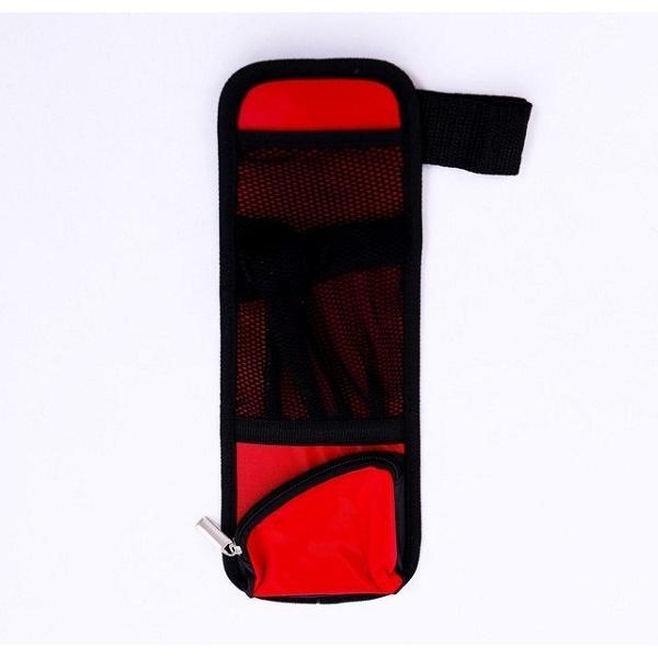Túi đựng đồ treo thành ghế ô tô 3P Auto cao cấp (Đen Phối Đỏ)