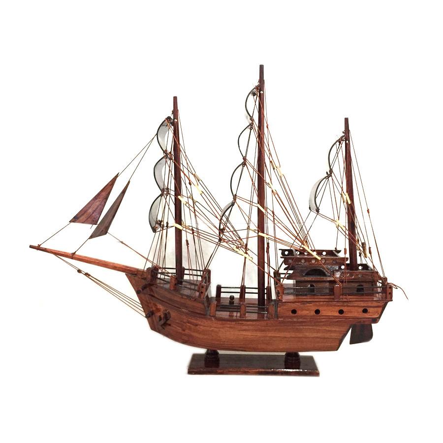 Mô hình thuyền gỗ trang trí Thái Lan - thân 40cm - gỗ tràm - 1358591 , 8068701268220 , 62_5985593 , 575000 , Mo-hinh-thuyen-go-trang-tri-Thai-Lan-than-40cm-go-tram-62_5985593 , tiki.vn , Mô hình thuyền gỗ trang trí Thái Lan - thân 40cm - gỗ tràm