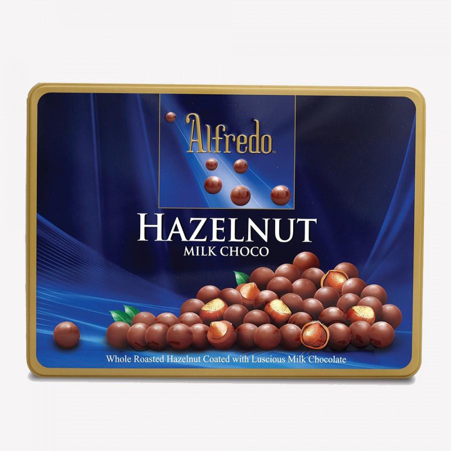 Kẹo Socola Hazelnut Milk Choco Alfredo (180g/Hộp)