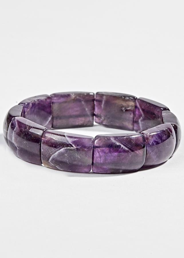Vòng Bản Thạch Anh Tím Ngọc Quý Gemstones